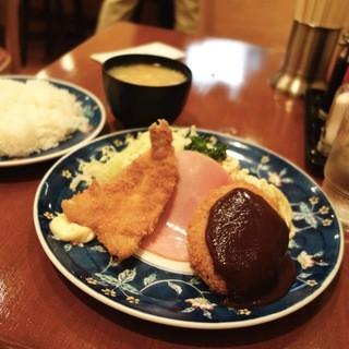 グリル金プラ - A定食 780円