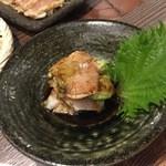 宮崎県日向市 塚田農場 - 鶏とアボガドの山わさび醤油♪