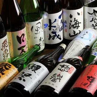 有名銘柄から栃木の銘酒も!