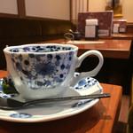 茜茶寮 - コーヒー、店内