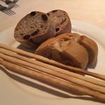 ジャルディーノ - グリッシーニ、天然酵母のパン