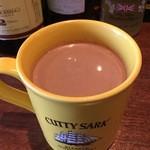 スコティッシュ パブ ブリッジェンド - 寒い時期にはホットチョコレートも美味しいですよ。