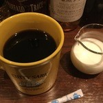 スコティッシュ パブ ブリッジェンド - コーヒーはたっぷりマグカップで提供しております。