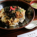 シャトル - カツ丼(味噌汁付き)