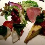 レアリスタ - カプレーゼ、フリタッータの前菜