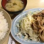 50199304 - 生姜焼き定食