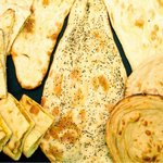 南インド料理胡椒海岸マラバールエクスプレス - ナン