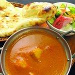 南インド料理胡椒海岸マラバールエクスプレス - ランチはナンが食べ放題!
