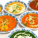 南インド料理胡椒海岸マラバールエクスプレス - 各種カレー