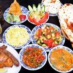 南インド料理胡椒海岸マラバールエクスプレス - 各種コース