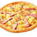 ピザ・ロイヤルハット - ソーセージとふわふわたまご  SS\630 S\1,200 M\2,040 L\3,680