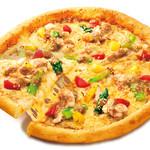 ピザ・ロイヤルハット - チキンのごま&ごまソース  SS¥560 S¥1,060 M\1,800 L\3,200