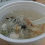 味道本色 - スープのテイクアウト(100円)