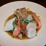 銀座アスター - 海の幸の冷麺