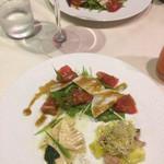 ソプラアクア - 良くも悪くも家庭的惣菜の域を出ない。せめてスプラウトに下味を付けて欲しい。