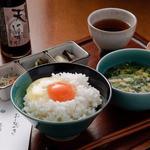 大江ノ郷自然牧場 ココガーデン - 料理写真:たまごかけご飯セット