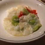 50203173 - 海老とそら豆の卵白炒め