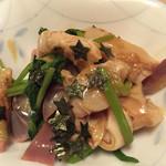 焼鶏館 - ホッキ三つ葉ワサビ600円