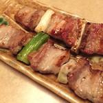 焼鶏館 - 豚せい肉340円