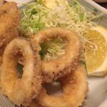 焼鶏館 - イカリング450円