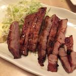 焼鶏館 - 豚肩ロース味付あみ焼650円