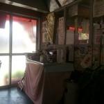 はまぐり食堂 - ティーパック、インスタントコーヒーがセルフサービスで。。。