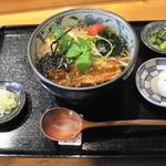 冨田や - 料理写真:たぬき蕎麦(840円)