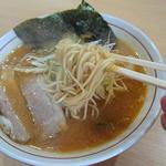 麺屋 彰 - 細麺ストレートです
