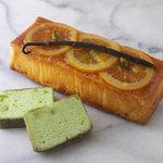 L'ATELIER DU SUCRE - スピルリナのしっとりオレンジケーキ お取り寄せもできます