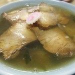 朝市ラーメン - 塩チャーシュー麺
