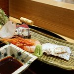 日本料理 太月 - しまえび、太刀魚
