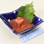 沖縄料理としゃぶしゃぶのお店 赤瓦 - 豆腐よう