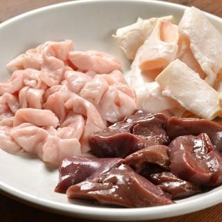 豚ホルモンは鮮度抜群で種類が豊富!!
