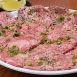 木曽楽 - 料理写真:塩タン