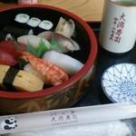 パンダ - 料理写真:にぎり寿司(並)800円