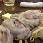 いろは - 牡蠣バターの鉄板焼き