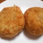 そら野デリカ - 料理写真:旬菜コロッケ&納豆コロッケ