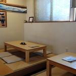 逗子寿徳庵 - 店内の座敷席