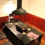 赤身肉専門 焼肉 牛進 - 半個室となります。座敷