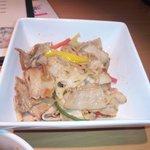 居酒屋のんのん - 豚バラ肉の柚子胡椒炒め