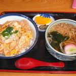 千軒坊 - 地鶏親子丼セット