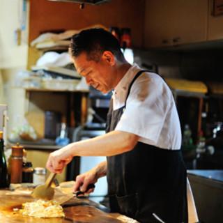 神戸牛ステーキ専門店で修行したオーナー