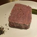 モツビストロ麦房家 - 田舎風お肉のパテ