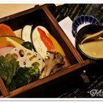 50225379 - 旬のお野菜せいろ蒸し ~西京味噌のバーニャソース~