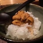 千翠 - 萩の雲丹丼