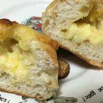 石井屋 - チーズフランスの断面