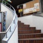 ミルミレ - 階段を上って二階です