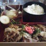 ウエストロード - 焼きそば定食(¥600)