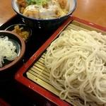 ゆう月 - 『ミニカツ丼セット』¥980-