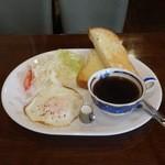 喫茶ニューロード - モーニングBセット480円